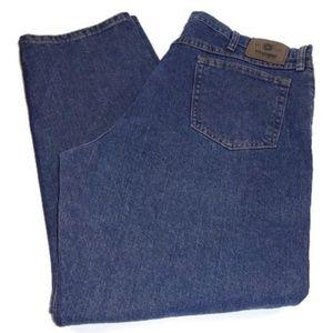 Wrangler Mens Jeans Blue Denim Relaxed Fit